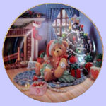 A Treasury of Cherished Teddys - Happy Holidays Friend - Pricilla Hillman