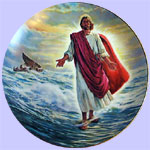 Christ Walks On Water - Glory of Christ Robert Barrett