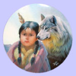Pride of The American Indians - Gregory Perillo Plate