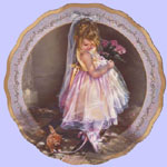 Ribbons of Love - Dances of Joy - Sandra Kuck Collectors Ballet Plates