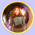 Doctor Beverly Crusher  Plate - Keith Birdsong