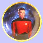 Ensign Wesley Crusher  Plate - Keith Birdsong