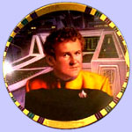 Chief Miles O'Brien  Plate- Morgan Weistling