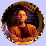 Security Chief Odo  Plate - Morgan Weistling