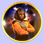 Lieutenant Worf  Plate - Keith Birdsong