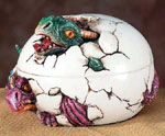 Baby Dragon Egg Trinket Box