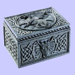 Celtic Dragon Jewelry Box