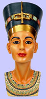 Queen Nefertiti Bust - Egyptian Queen