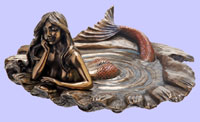 Nouveau Mermaid Tray