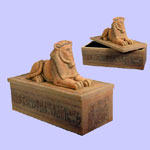 Egyptian Ram Box