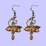 Nouveau Marigold Earring Costume Jewelry