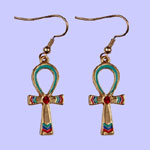 Egyptian Ankh Pendant Costume Jewelry