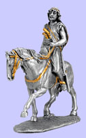 Muslim Warrior On Horse Statue