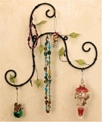 Wall Mounted Vine Jewelry/ Ornament Holder