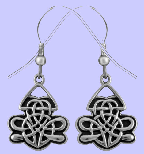 Celtic arland earrings costume jewelry for Arland decoration