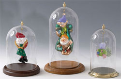 Ornament Domes with Top Hook