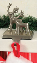 Raindeer Stocking Holder