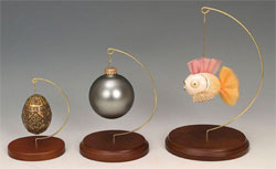 Classic Wood Ornament Stands