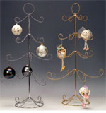 Brass / Silver 4 Tier Ornament Tree