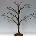 Small Brown Wire Twig Ornament Tree