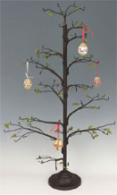 Lg Brown  Wire Twig Ornament Tree