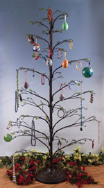 5 foot Tall Ornament Tree