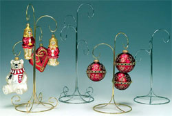 Silver and Brass Ornament Tree