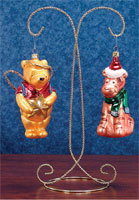 Twin Ornament Stands