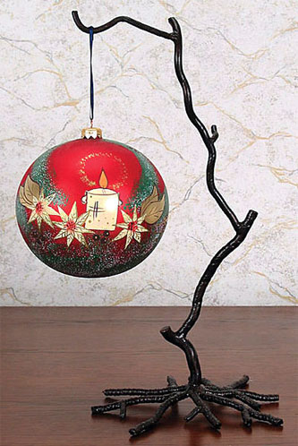 1b77df1c5384d5 Wrought Iron Twig Stand