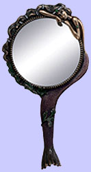 Nouveau Mermaid Hand Mirror