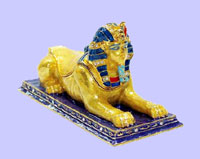 Sphinx Jeweled Box