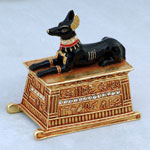 Anubis Jeweled Box