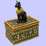Egyptian Bastet Box