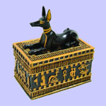Egyptian Anubis Box