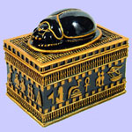 Egyptian Scarab Box