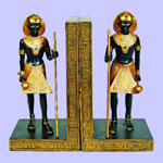 Egyptian Guardian Bookends
