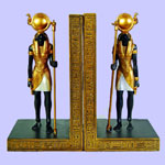 Egyptian Horus Bookends