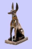 Sm Sitting Egyptian Anubis