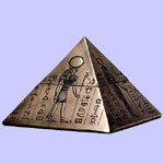 Egyptian Gods Pyramid Box
