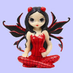 Jasmine Becket Griffith Strangeling Fairies Poppy Garden Fairy