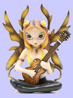Jasmine Becket Griffith Strangeling Fairies Golden Guitar Fairy
