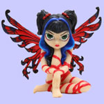 Jasmine Becket Griffith Strangeling Fairies Red Ribbon Fairy