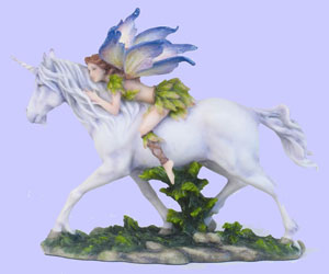 Fairy, Sprite, Pegasus and  Unicorn Figurines & Statues & Jewelry