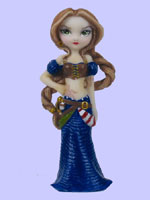 Jasmine Becket Griffith Strangeling Fairies Captain Molly