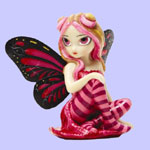 Jasmine Becket Griffith Strangeling Fairies Pink Lightning Fairy