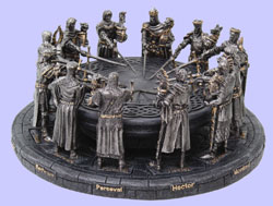 Round Table Knights Statue