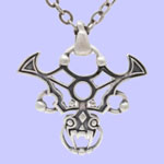 Gothic Dragon Necklace