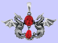Guardian Dragons Pendant