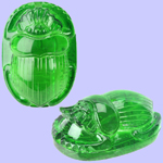 Translucent Green Scarab