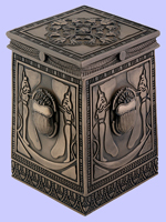 Bronze Scarab Box